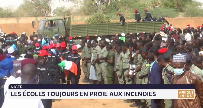Niger: les écoles toujours en proie aux incendies