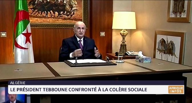 Algérie : le président Tebboune confronté à la colère sociale