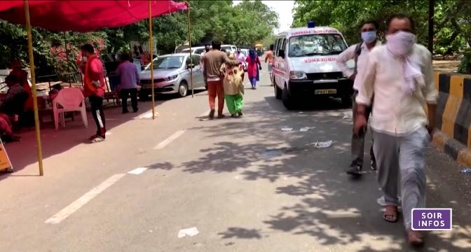 Coronavirus: l'épidémie flambe en Inde
