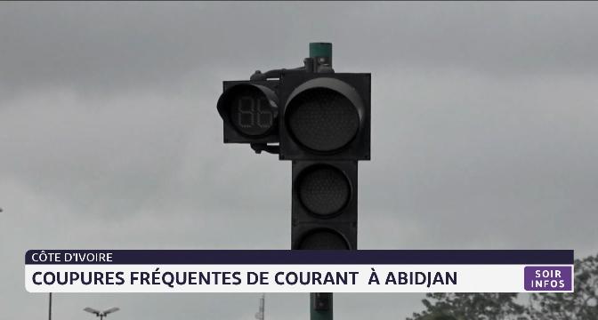 Côte d'Ivoire: coupure fréquentes de courant à Abidjan