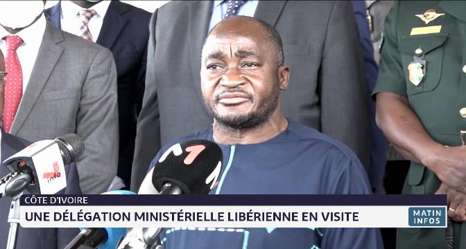 Une délégation ministérielle libérienne en visite en Côte d'Ivoire