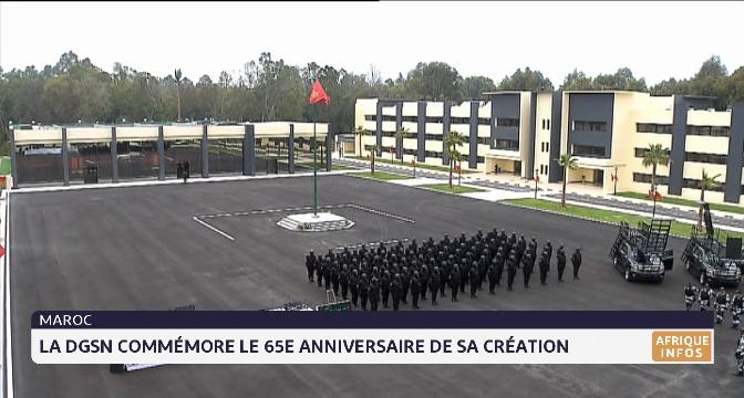 La DGSN commémore le 65e anniversaire de sa création