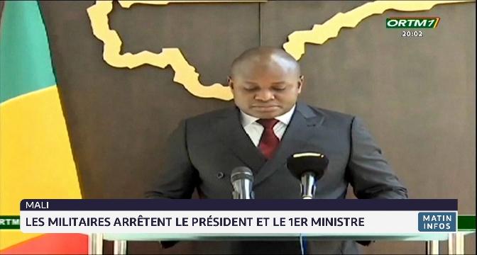 Mali: les militaires arrêtent le premier ministre et le président