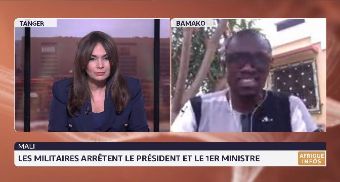 Arrestation du président et du premier ministre: la situation au Mali