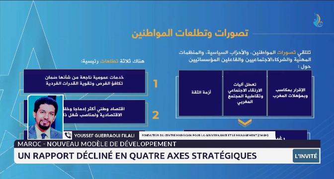 Nouveau modèle de développement: Youssef Guerraoui Filali revient sur les ambitions de ce projet sociétal