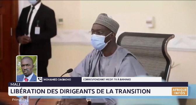Mali: libération des dirigeants de la transition