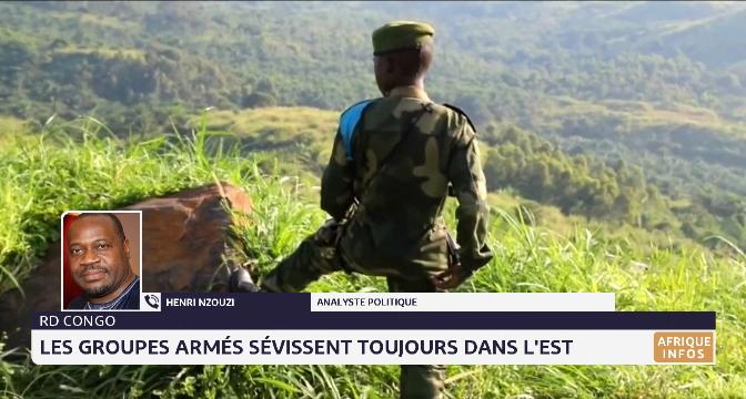 RD Congo: les groupes armés sévissent toujours dans l'est