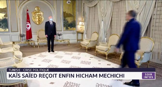 Tunisie: Kaïs Saïed reçoit enfin Hicham Mechichi