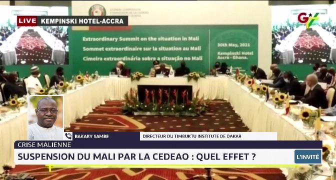 Suspension du Mali par la CEDEAO: quel effet ? Le point avec Bakary Sambe du Timbuktu Institute
