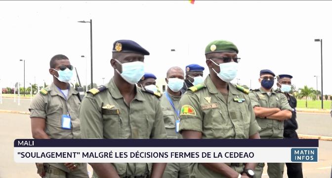 """Mali: """"soulagement"""" malgré les décisions fermes de la CEDEAO"""
