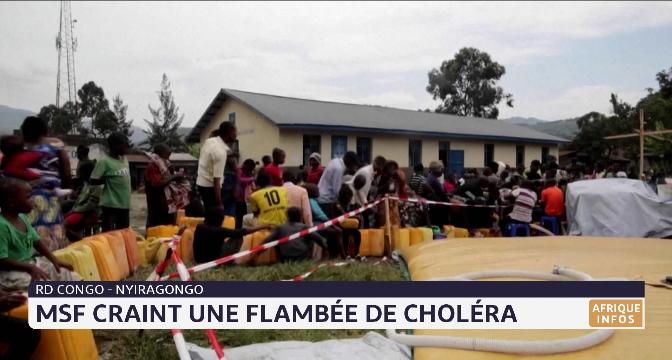 RDC: MSF craint une flambée de choléra