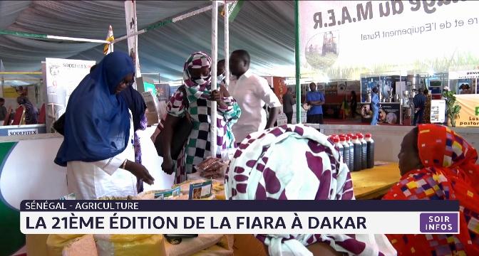 Sénégal-Agriculture: la 21ème édition du FIARA à Dakar