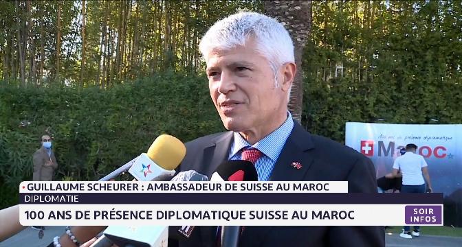 Diplomatie: 100 ans de présence diplomatique suisse au Maroc