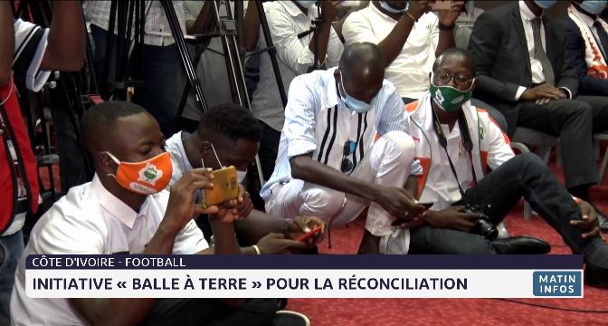 Côte d'Ivoire- football: Initiative «balle à terre» pour la réconciliation