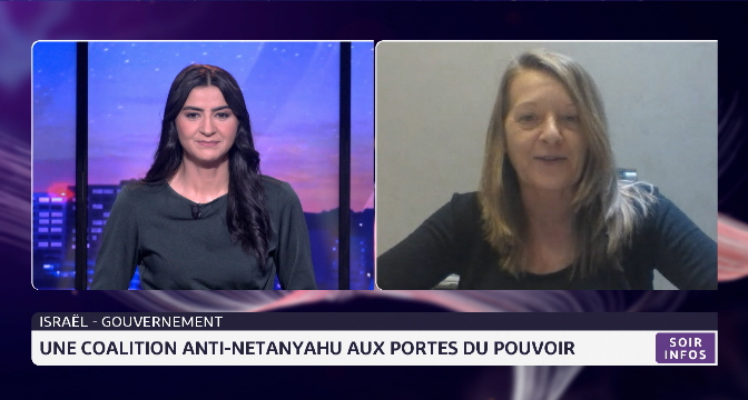 Israël: une coalition anti-Netanyahu aux portes du pouvoir