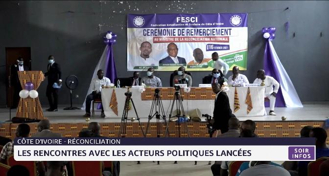 Côte d'Ivoire: les rencontres avec les acteurs politiques lancées