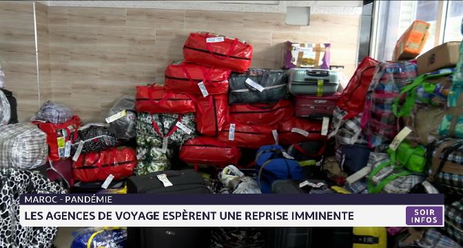 Les agences de voyage espèrent une reprise imminente