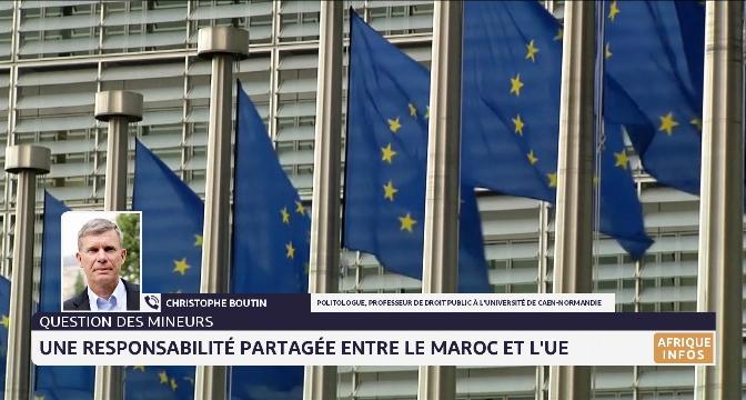 Question des mineurs: une responsabilité partagée entre le Maroc et l'UE, selon Christophe Boutin