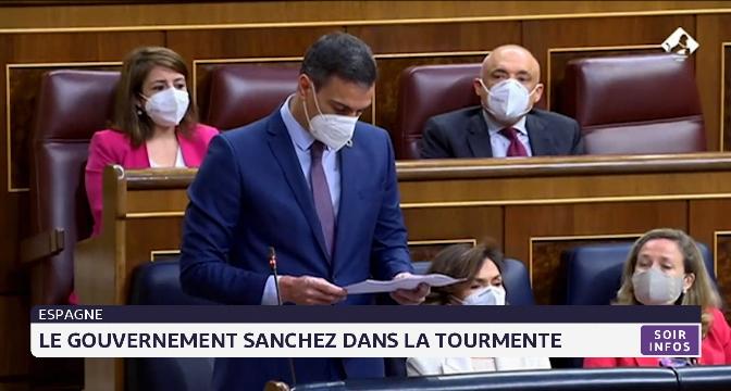Espagne: le gouvernement Sanchez dans la tourmente