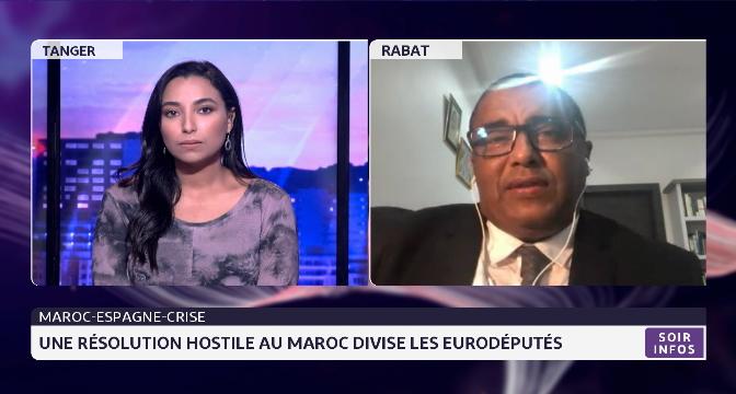 Maroc-Espagne: une résolution hostile au Maroc divise les eurodéputés. Eclairage Zakaria Abouddahab