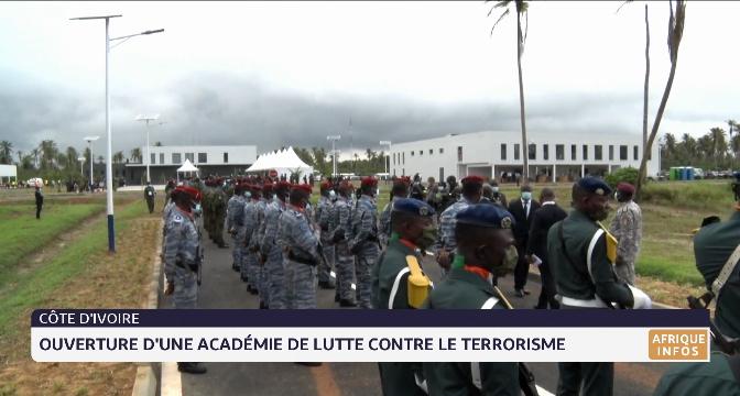 Côte d'Ivoire: ouverture d'une académie de lutte contre le terrorisme