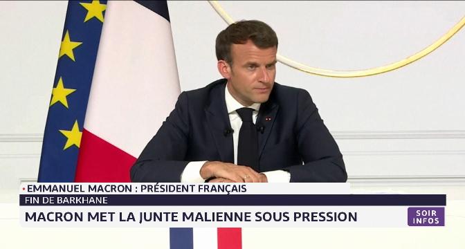 Fin de Barkhane: Macron met la junte malienne sous pression