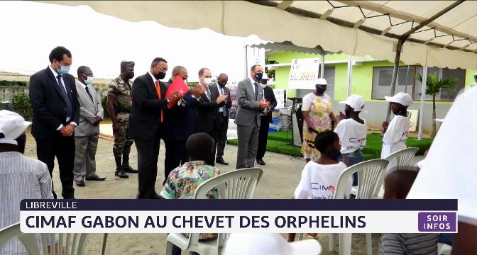 CIMAF Gabon au chevet des orphelins