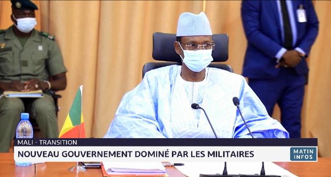 Mali-Transition: nouveau gouvernement dominé par les militaires