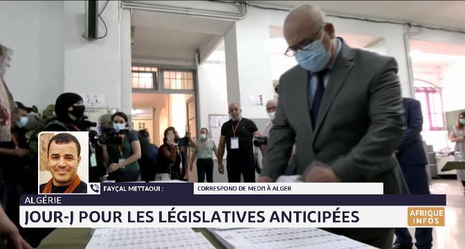 Algérie: jour-j pour les législatives anticipées