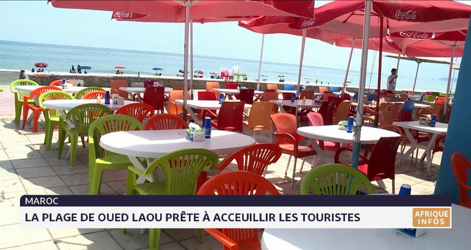La plage de Oued Laou prête à accueillir les touristes