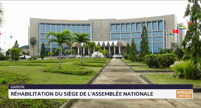 Gabon: réhabilitation du palais Leon MBA