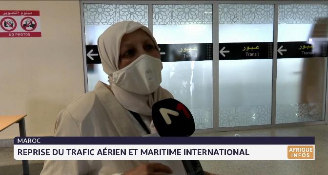 Le Maroc ouvre ses frontières aériennes et maritimes