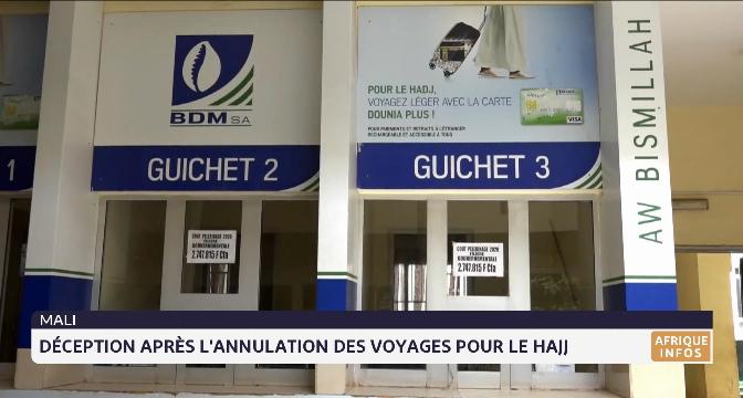 Mali: déception après l'annulation des voyages pour le Hajj