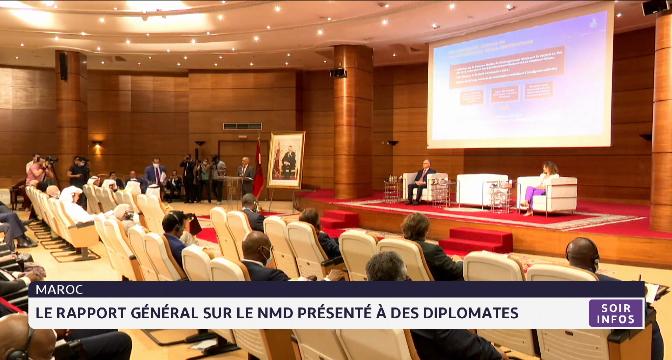Le rapport général de la CSMD présenté à des diplomates accrédités au Maroc