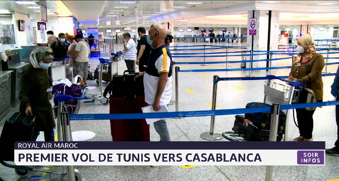 MRE: premier vol de Tunis vers Casablanca