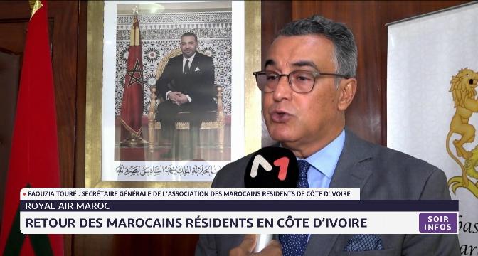 Retour des Marocains résidents en Côte d'Ivoire