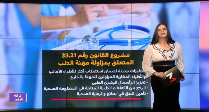 شاشة تفاعلية.. تفاصيل مشروع قانون مزاولة مهنة الطب