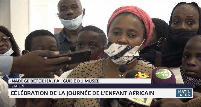 Gabon: célébration de la Journée de l'enfant africain