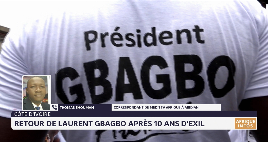 Côte d'Ivoire: retour de Laurent Gbagbo après 10 ans d'exil. Le point avec Thomas Ehouman