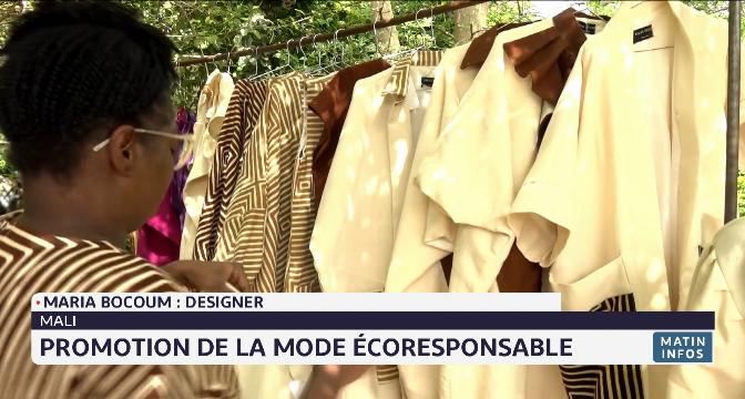 Mali: promotion de la mode écoresponsable