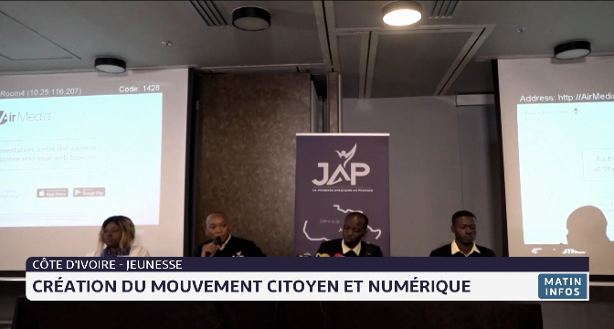 Côte d'Ivoire-jeunesse: Création d'un mouvement citoyen et numérique