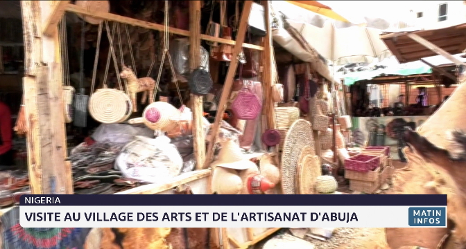 Nigéria: visite au village des arts et de l'artisanat d'Abuja