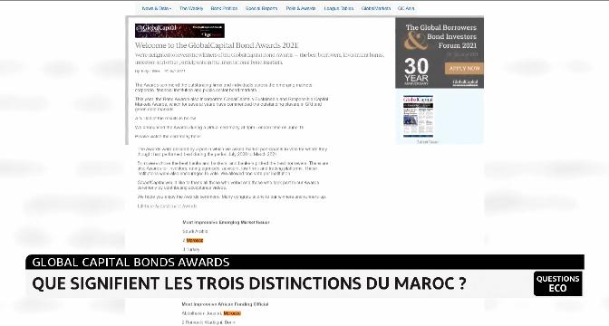 Global Capital Bonds Awards: que signifient les trois distinctions du Maroc ?