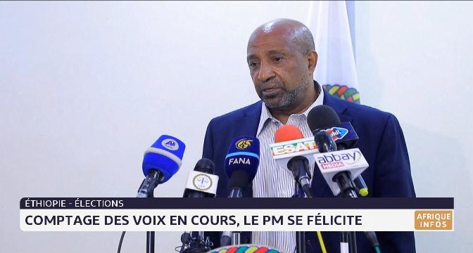 Ethiopie: comptage des voix en cours, le PM se félicite