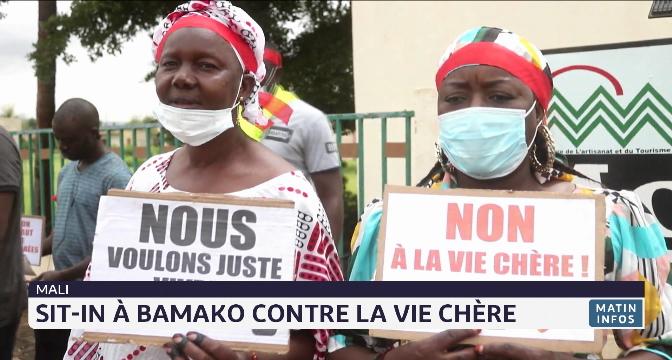 Mali: sit-in à Bamako contre la vie chère