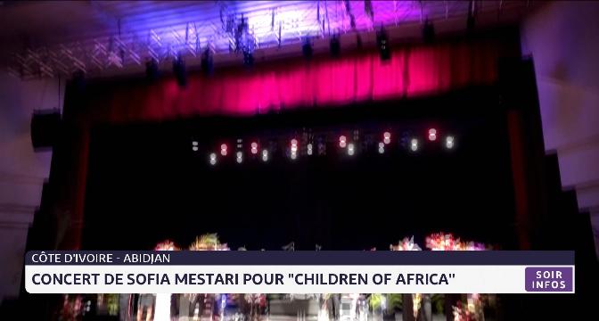 "Concert de Sofia Mestari pour ""Children of Africa"""