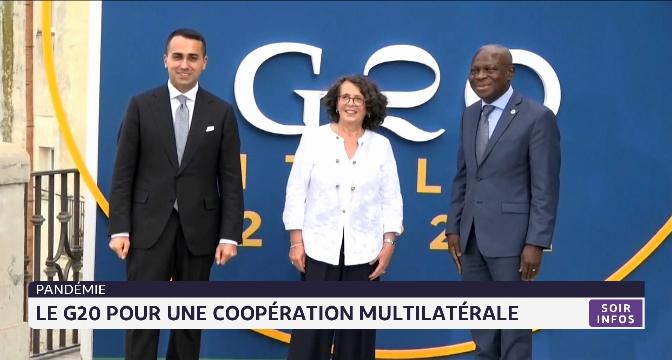 Pandémie: le G20 pour une coopération multilatérale
