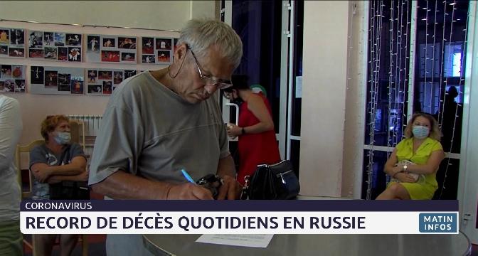 Covid-19: record de décès quotidiens en Russie
