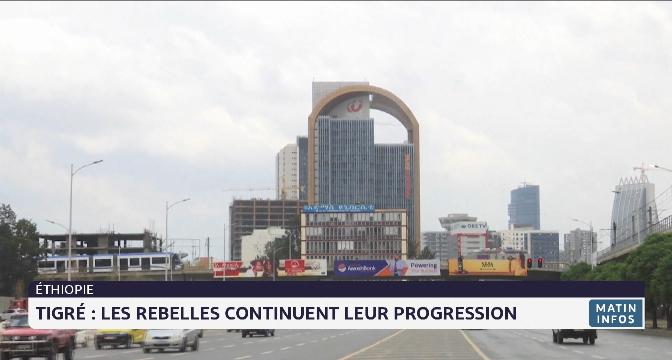 Tigré: les rebelles continuent leur progression