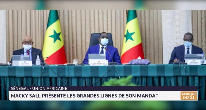 Sénégal-Union Africaine: Macky Sall présente les grandes lignes de son mandat